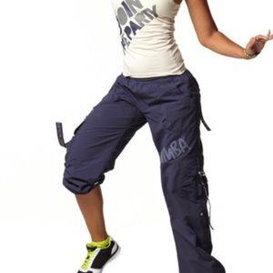 Zumba Feelin It Cargo pants Indigo Blue small